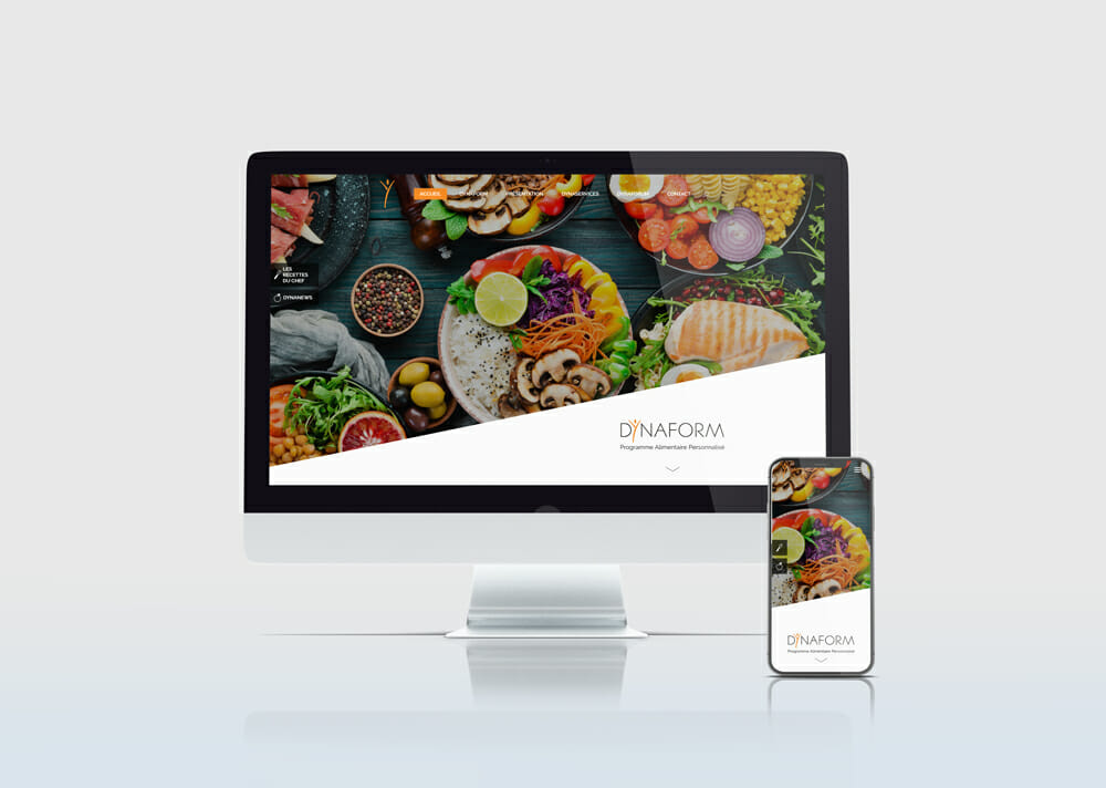 creation site pour coaching alimentaire